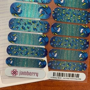 Jamberry DISNEY Just Keep Swimming Full Sheet